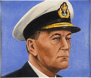 John Cunningham (Royal Navy officer) - Portrait of Sir John Cunningham by William Timym