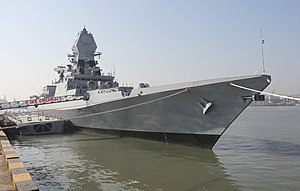 INS Chennai during its commissioning.jpg