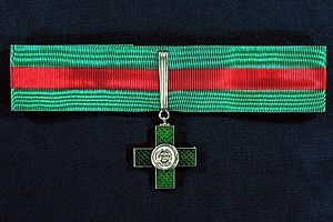 Order of Merit for Labour - Image: IT Knight of Labour Insignia