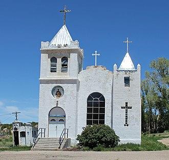 National Register of Historic Places listings in Costilla County, Colorado - Image: Iglesia de San Francisco de Assisi