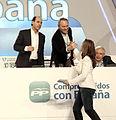 Ignacio Diego, Alberto Fabra y Alicia Sánchez-Camacho durante la segunda jornada del XVII Congreso Nacional del PP.jpg