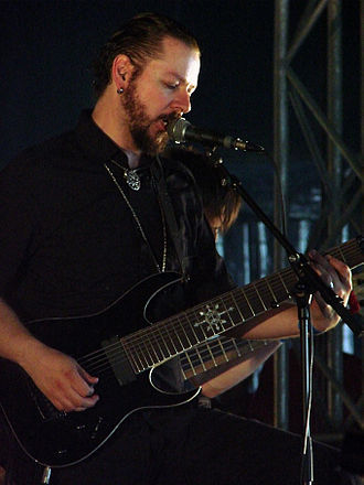 Ihsahn - Ihsahn performing live at Hellfest in June 2010