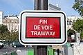 Ile-de-France - Tramway - T2 - Signalisation - Fin de voie.jpg