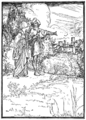 Illustration at page 155 in Grimm's Household Tales (Edwardes, Bell).png