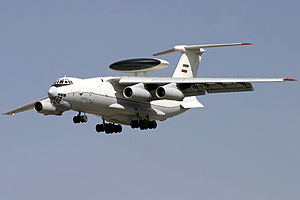 2009 Iranian Air Force Il-76MD Adnan 2 accident - An Ilyushin Il-76MD Adnan 2 similar to the one involved in the crash.
