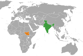 India–South Sudan relations Diplomatic relations between the Republic of India and the Republic of South Sudan