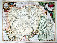 Indostan - a Map of India by Vincenzo Coronelli, Venice 1692