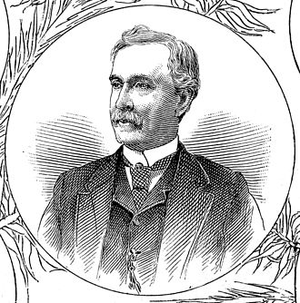 Joseph R. Anderson - Engraving of Anderson from an 1886 book on Richmond industries.