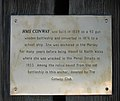 Information plate on the HMS Conway anchor - geograph.org.uk - 1162327.jpg