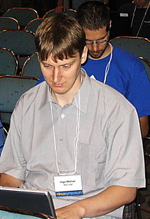 Ingo Molnár Linux kernel programmer