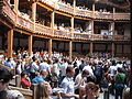 Inside Shakespeare's Globe Theatre, London.JPG