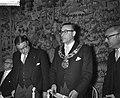 Installatie van ir H B J Witte tot burgemeester van Eindhoven, burgemeester , Bestanddeelnr 910-7714.jpg