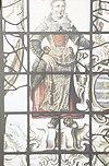 interieur, gebrandschilderd glas, detail - de rijp - 20265891 - rce