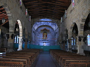 Guadalupe, Santander - Interior Iglesia Principal, Guadalupe, Santander
