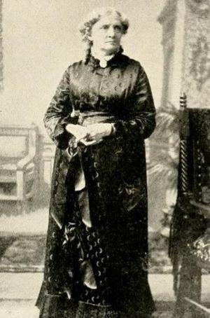Isabella Beecher Hooker - Isabella Beecher Hooker, undated