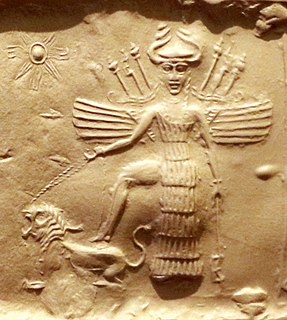 Inanna ancient Mesopotamian goddess