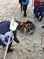Island Beach State Park First Day Hike 2019 s'mores at the end.jpg