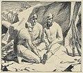 Italian Alpini Resting, 1918 Art.IWMART4491.jpg