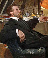 Portrait of the Artist Ivan Goryushkin-Sorokopudov