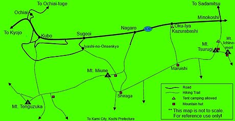 Carte Des Sentiers De Montagne La Valle DIya