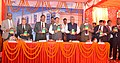 """J.P. Nadda releasing the National Formulary of India 2016 and Addendum 2016 to Indian Pharmacopoeia 2014 after foundation laying ceremony of the """"Advance Level Research Centre"""", at Indian Pharmacopoeia Commission (IPC).jpg"""