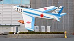 JASDF F-86F(02-7966) at Hamamatsu Air Base Publication Center November 24, 2014 07.jpg
