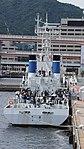 JCG Tosa(PL-08) right behind view at Port of Kobe July 22, 2017.jpg