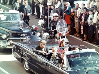 Assassination of John F. Kennedy 1963 murder of the US President