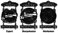 JROTC Marksmanship Qualification Badges.png