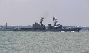 JS Yūgiri (DD-153), Trafalgar 200th Anniversary, -June 2005 a.jpg