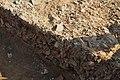 Jaciment romà de la Rana, estratigrafia.jpg