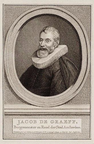 Jacobus Houbraken - Image: Jacob Dircksz de Graeff, Gravur von Jacobus Houbraken