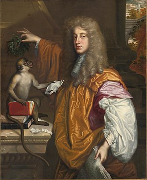 John Wilmot, 2nd Earl of Rochester - Portrait of the poet by Jacob Huysmans