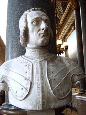 Jacques de La Palice - Marble bust of La Palice at the Palace of Versailles
