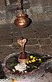 Jagadishwar's idol with was worshiped by the royal family, Rajgad.jpg