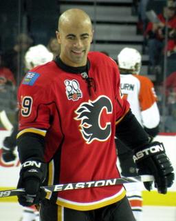 Jamal Mayers Canadian ice hockey player