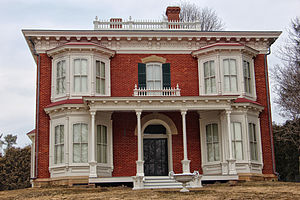 National Register of Historic Places listings in Grant County, Wisconsin - Image: James Ballantine House