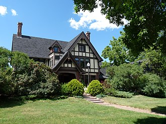 National Register of Historic Places listings in Eau Claire County, Wisconsin - Image: James Barber House