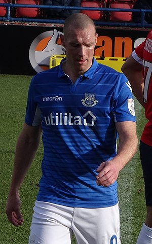 James Constable - Constable playing for Eastleigh in 2017