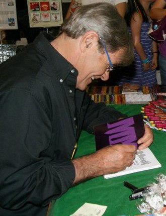 James Lee (writer) - Image: James Lee at a book signing