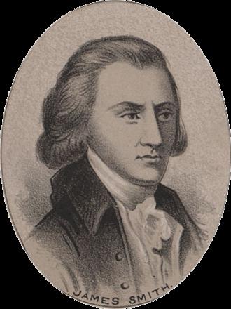 James Smith (delegate) - Image: James Smith (1700s)