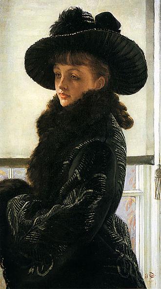 Kathleen Newton - James Tissot - Mavourneen, 1877