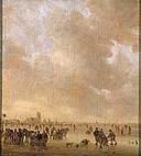 Jan Josephsz. van Goyen - On the Ice Near Dordrecht.jpg