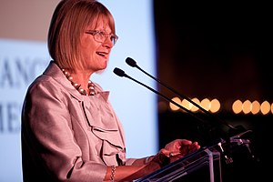 Jancis Robinson at a Financial Times Charity W...