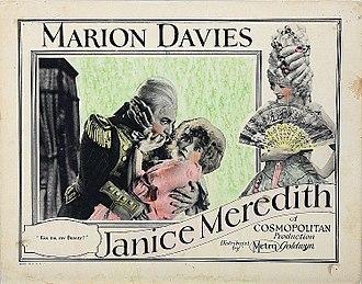 Janice Meredith - Image: Janice Meredith poster