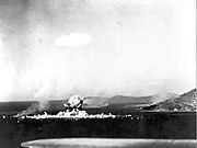 Japanese ammunition ship Aikoku Maru in Truk Harbor explodes