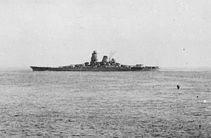 Japanese battleship Musashi underway in 1944 (NH 63473).jpg
