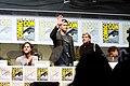 Jared Padalecki, Jensen Ackles, Robert Singer & Misha Collins (9362236775).jpg