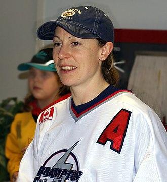 Jayna Hefford - Image: Jayna Hefford 2008