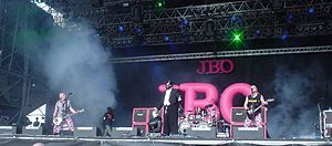 JBO (band) - J.B.O. on the main stage at the 2005 Earthshaker-Festival